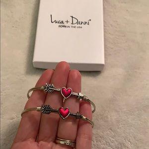 Luca + Danni matching bracelets